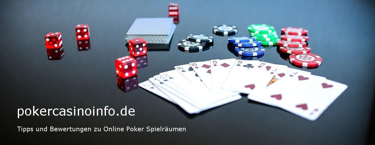 pokercasinoinfo.de - Tipps und Bewertungen zu Online Poker Spielräumen